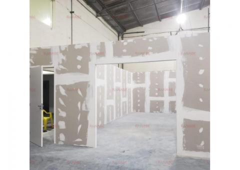 Divisória de gesso acartonado (drywall)