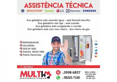 Serviço Assistência Técnica para geladeiras e refrigeradores